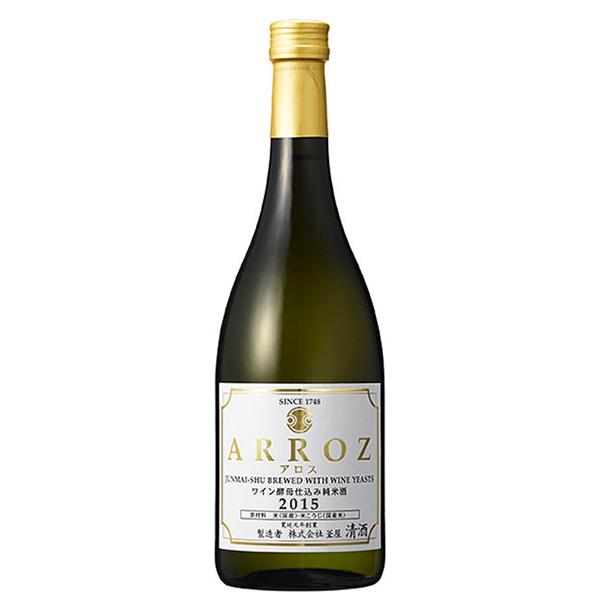 ワイン酵母仕込み純米酒 ARROZ -アロス-